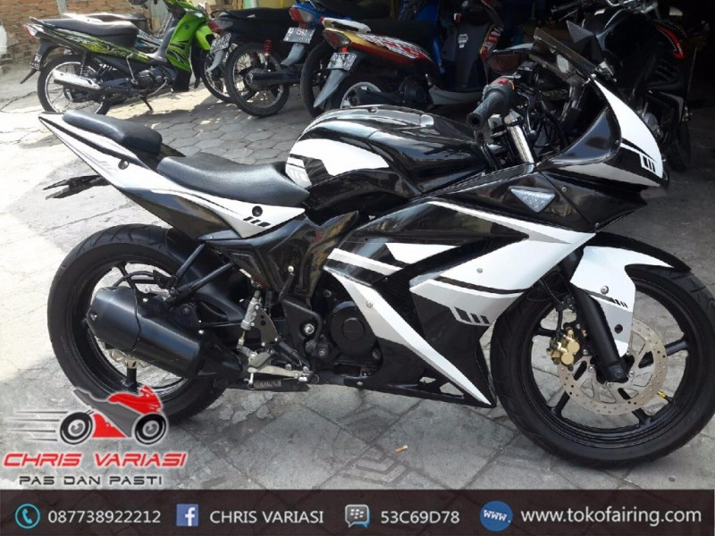 Full Fairing Ninja 250 Byson mix body r6