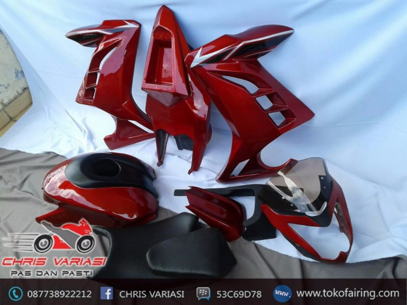 Paket Full set Fairing Verza Streetfighter