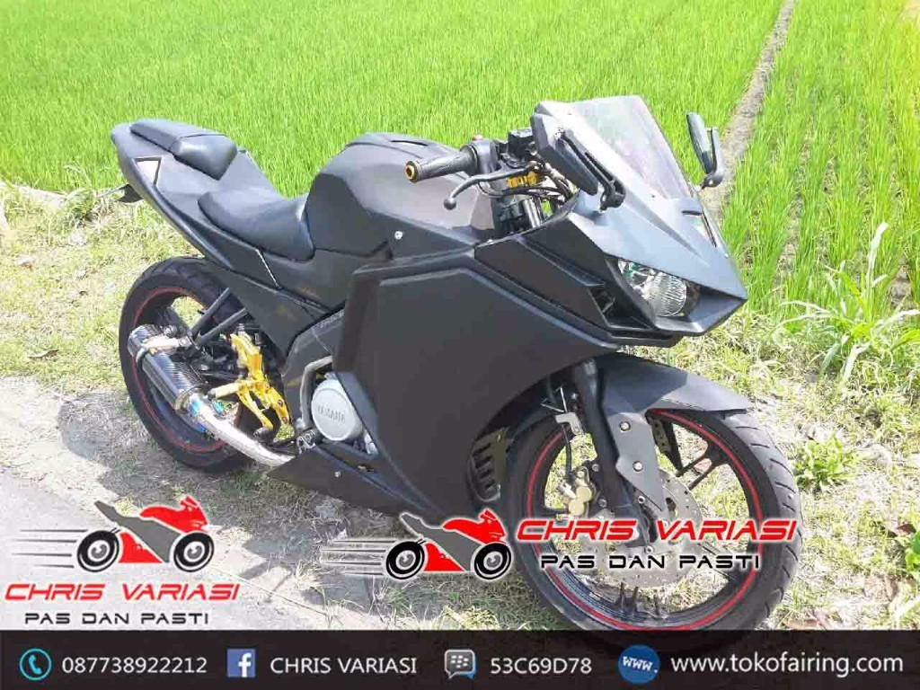 Fairing Fullset r25 v2 New Vixion Yellow Black