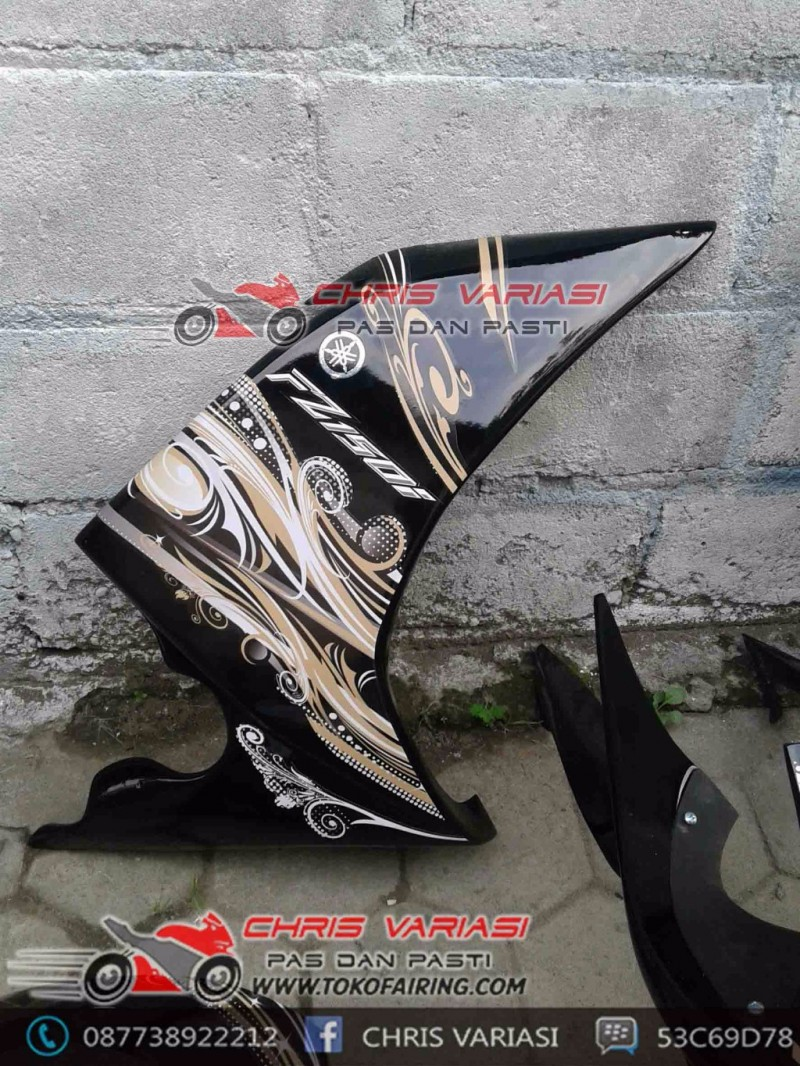 Full Fairing model r15 Eagle Eyes mix body ninja fi Black Artistic New vixion