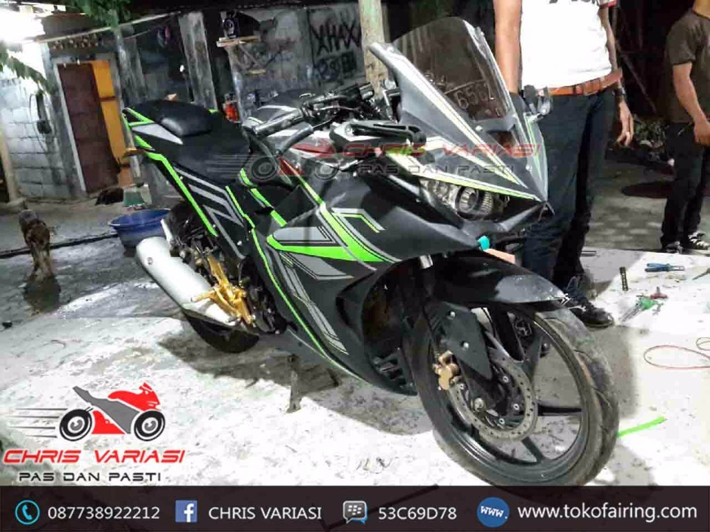 CB 150R OLD Full Fairing r25 v1 mix body belakang model r125 Mantis
