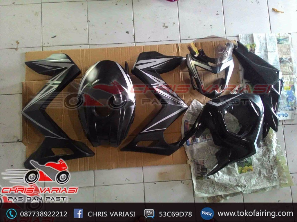 Fairing CB 150r Old Modif gaya Streetfighter