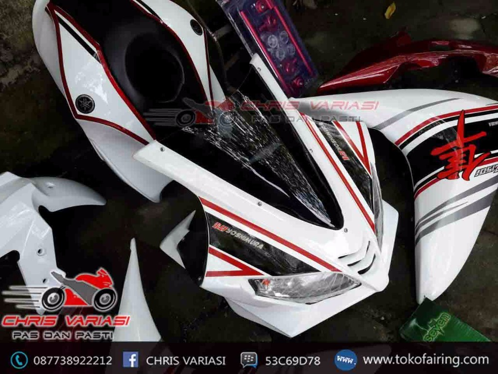 Full Fairing depan Model r125 Oriental Edition New Vix