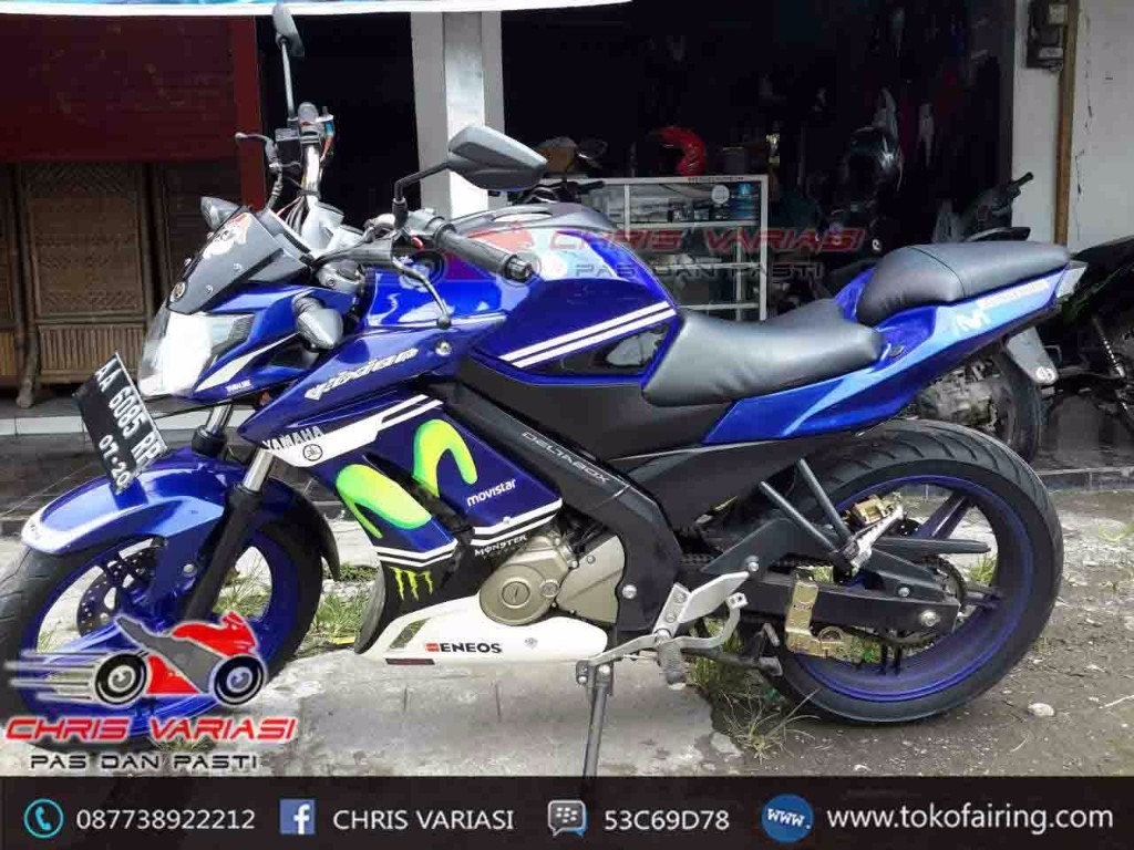 Paket Fairing New vixion Streetfighter Movistar