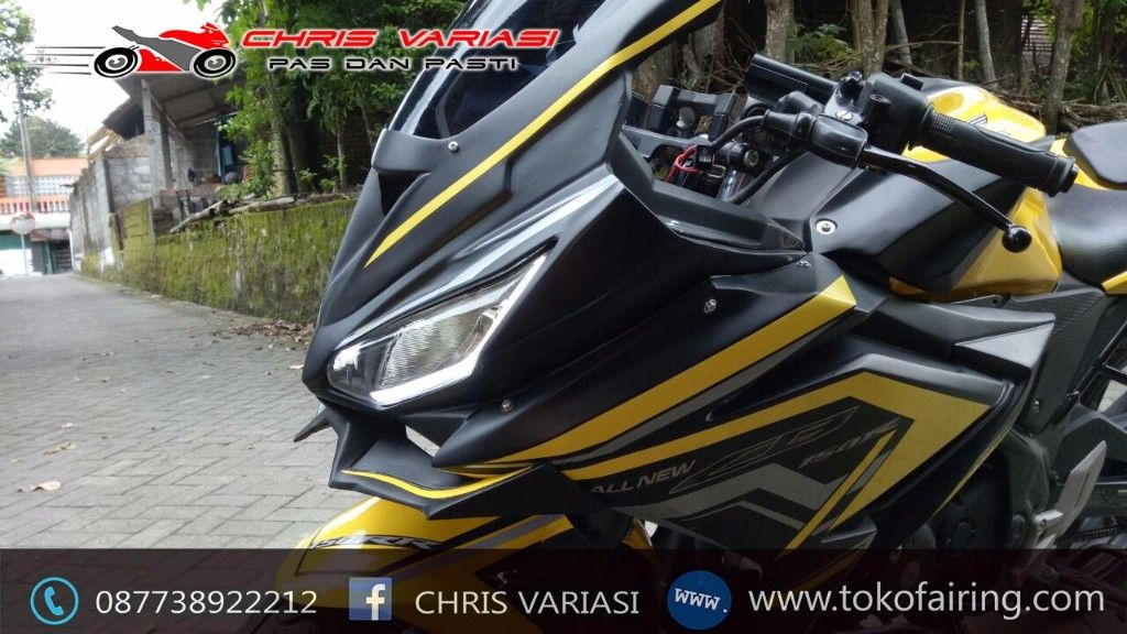 Fairing Fullset CBR 150R Facelift Black Doff All New Cb