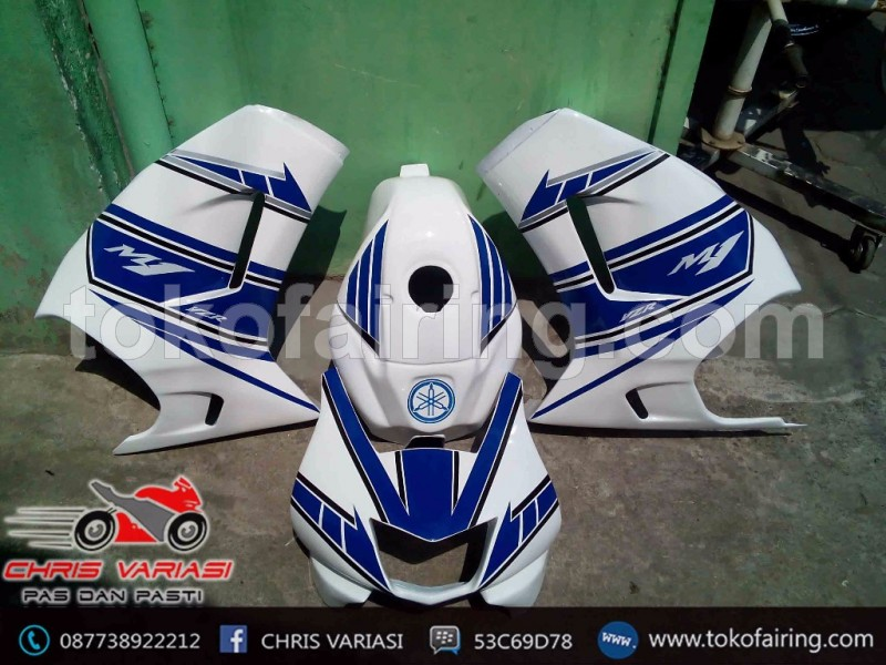 Fairing Full Depan M1 GP Blue Universal