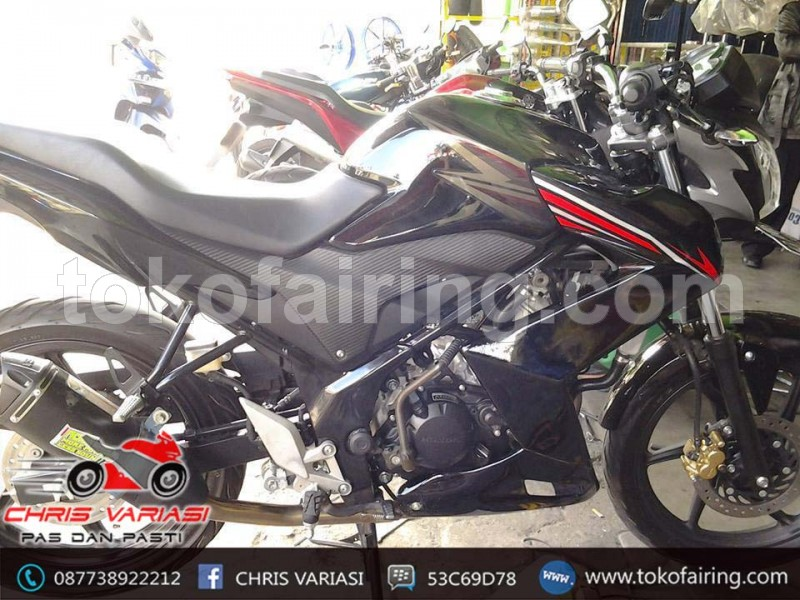 Sayap Cb 150R Old Model Ninja Z Black Combination