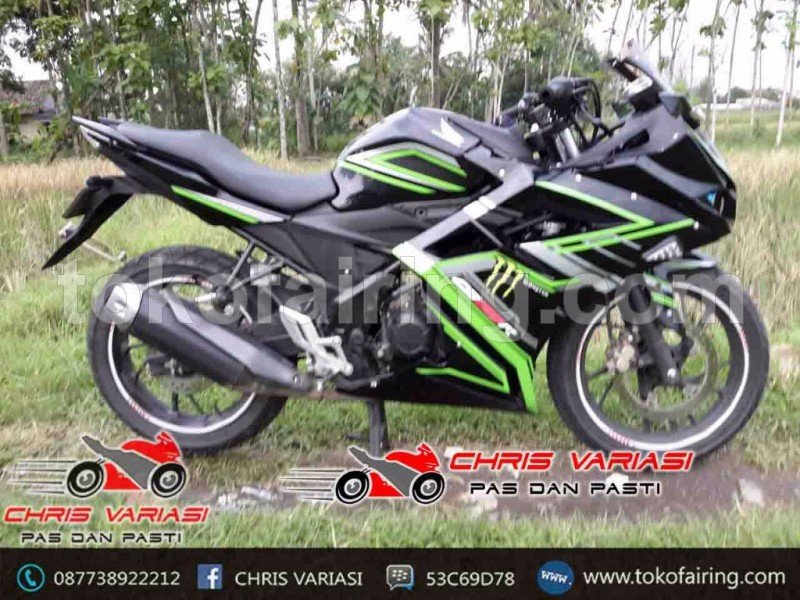 Full Fairing CBR 250RR Toko Concept Black Mantis
