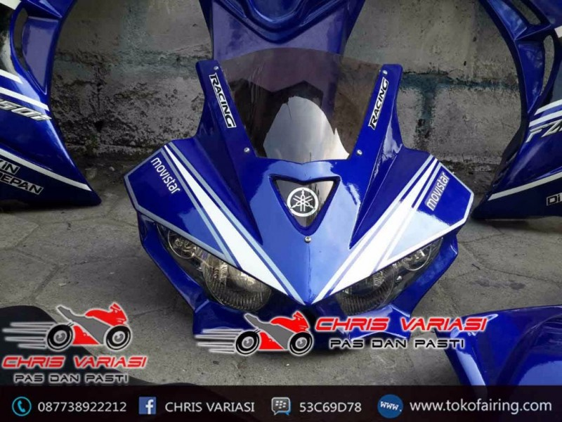 Fairing Full set R25 V1 New Vixion Blue Moviestar