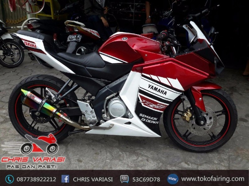 Fairing Full set R25 V2 New Vixion Red White Racing GP
