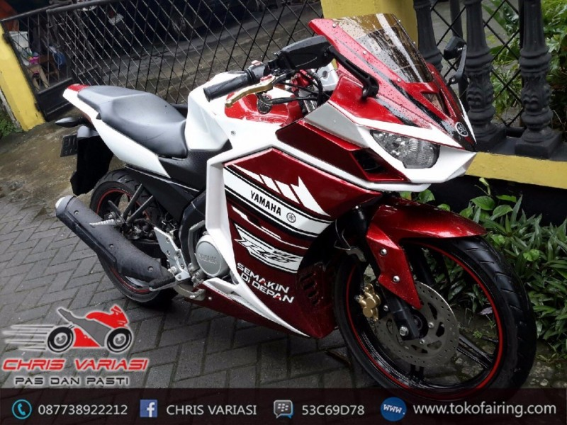 Full Fairing r25 GP Indonesia Red White