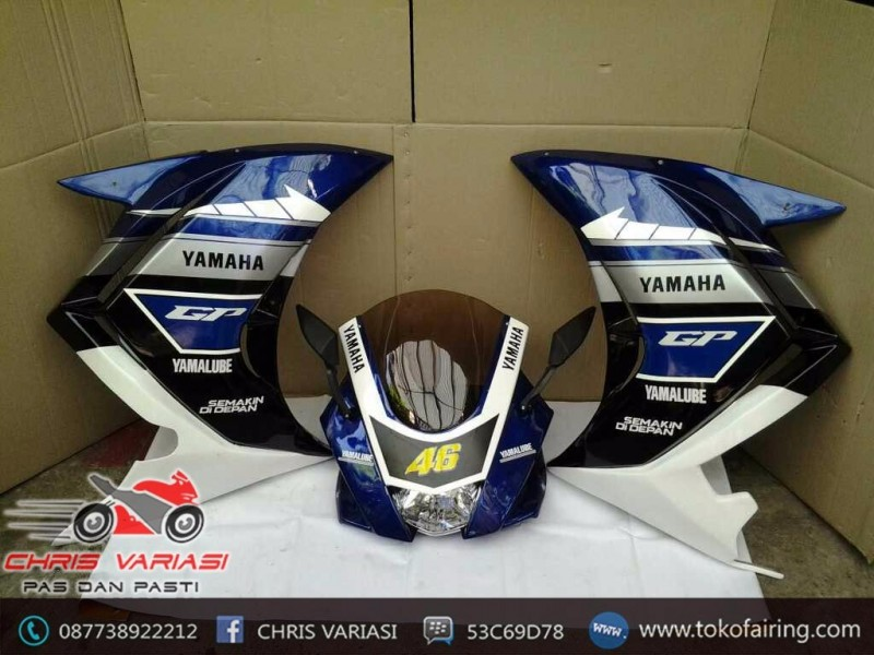 Full Fairing R25 V3 Blue GP