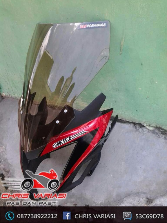 Cover Headlamp Cb 150R Long Visor
