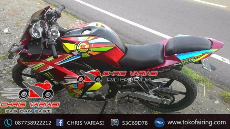Fairing R25 Rainbow Mix Body r125