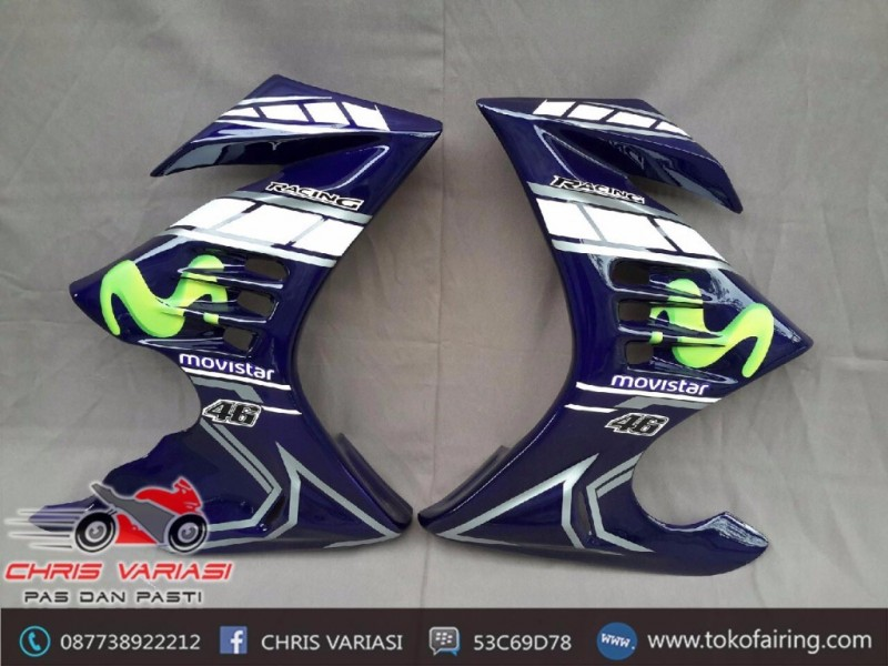 Half Fairing Thunder Movistar