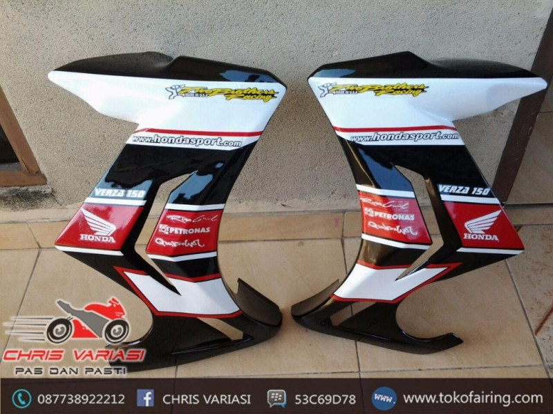 Half Fairing Tiger Revo Putih (copy)