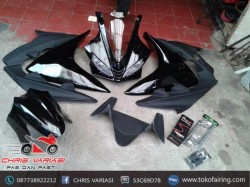 Full Fairing depan R125 v3(Europe) Black