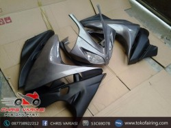 Full Fairing depan R125 v2 Grey