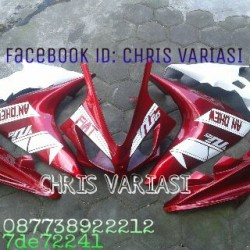 Full Fairing depan R125 v2 Red