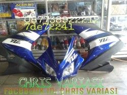 Full Fairing depan R125 v2 Blue