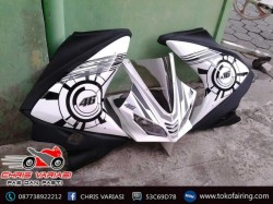 Full Fairing depan R125 v3(Europe) White