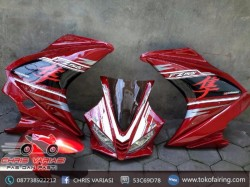 Full Fairing depan R125 v3(Europe) Red