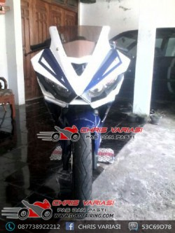 Full Fairing R25 V2 Mix body r15 New Vixion Blue sky