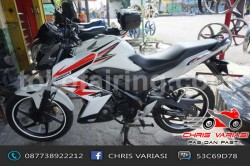 Sayap Cb 150R Old Model Ninja Z White Combination