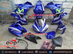 Fairing Full set R25 V1 New Vixion Blue Movistar