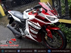 Full Fairing r25 V2 GP Indonesia Red White