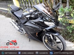 Full Set Fairing R125 v2 Black Glossy