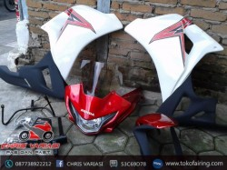 Full Fairing Depan CBR 250 on CB White