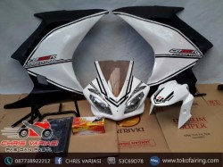 Full Fairing Depan Ninja Injeksi Custom on CB 150R old