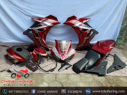 Fairing Fullset r25 on Cb 150R Merah