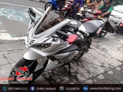 Full Fairing Depan R125 V3 on CB 150R Old